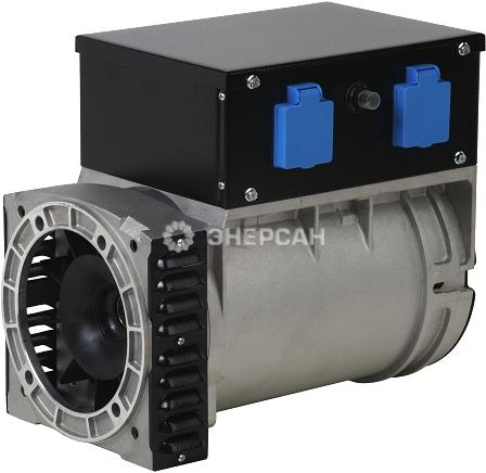 синхронный 2 полюсный однофазный 220в генератор переменного тока mecc alte s16f 150