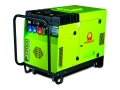Дизель генератор PRAMAC P12000 T в капоте