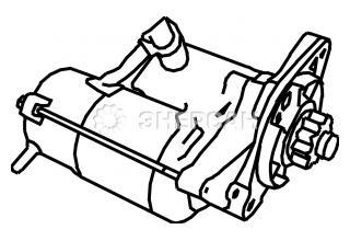 31210-ZE3-023 Стартер электрический 12В HONDA