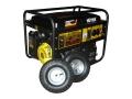 Бензогенератор HUTER DY6500LX с колесами и АКБ