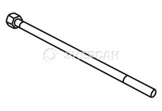 9911190202 Шпилька ротора длинная (280мм, S20FS/T20FS) Mecc Alte