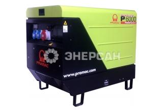 PRAMAC P6000 T в капоте