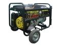 Бензогенератор HUTER DY8000LX с колесами